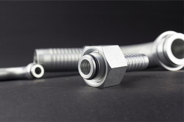 24 grados cono rosca métrica estándar DKOL DKOS accesorio hidráulico