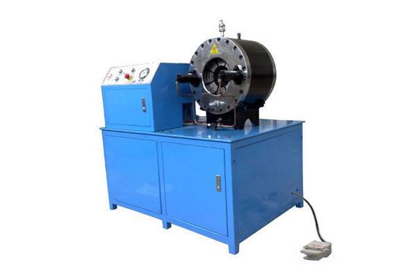 Máquinas para prensar mangueras pesadas