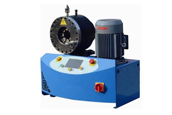 Máquina para prensar mangueras hidráulicas