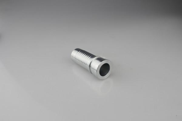 NPT / JIC / SAE / BSP / METRIC accesorios de manguera hidráulica de acero inoxidable